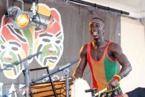 Afrikaanse drummer Djembe AGOGO