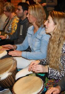 Djembe workshop zorginstelling