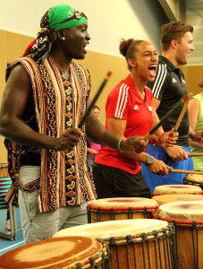 Djembe AGOGO percussie workshop