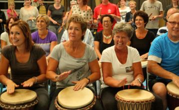 Djembe workshop MBO Amersfoort
